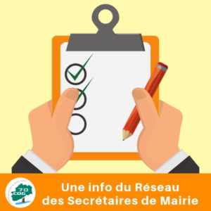 Formation réservée au Réseau des Secrétaires de mairie : Archives - Les bonnes pratiques de l'archivage