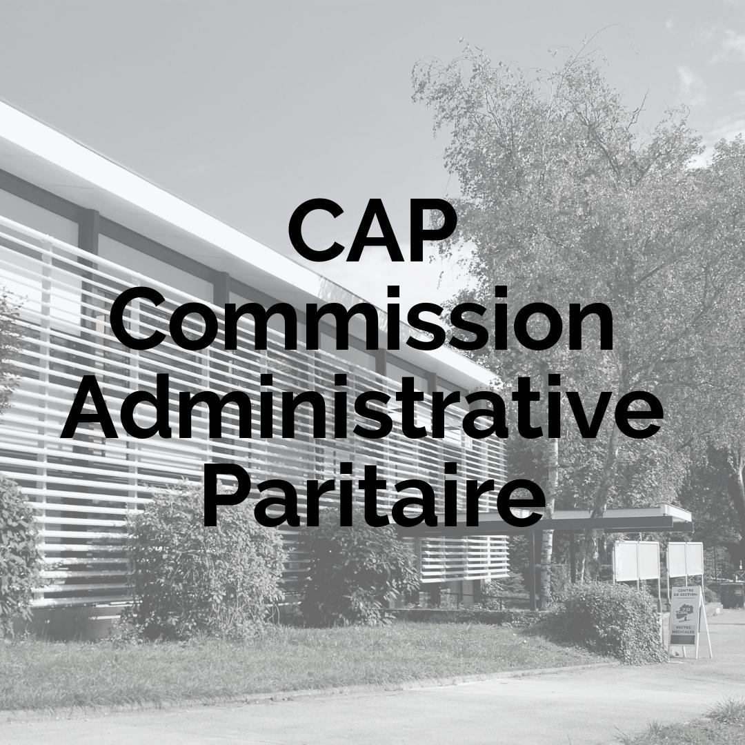 CAP toutes catégories - Promotion interne