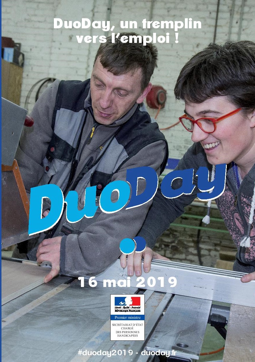 16 mai 2019 :  The DuoDay