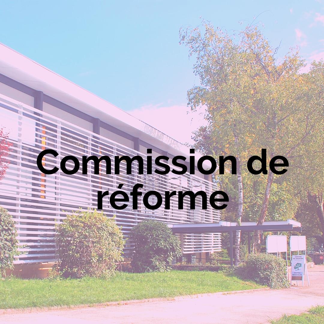 Commission de réforme