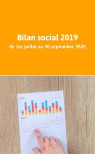 Bilan social 2019 - Campagne 2020