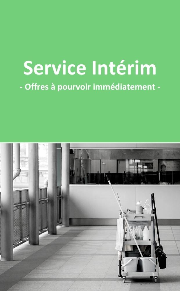 Les offres disponibles immédiatement au service Intérim